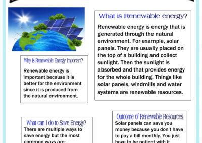Newsletter for Renewable energy 5E